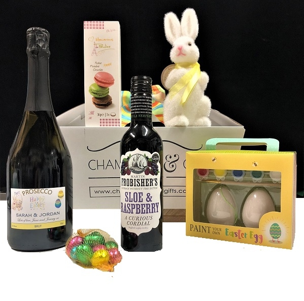 """Easter Delight  ""  Prosecco, Chocolate, Easter Egg & Bunny Treats..."