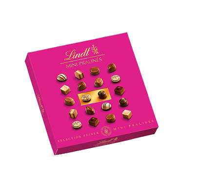 Lindt Pink Chocolate Box