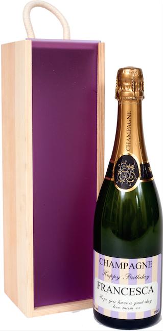Personalised Champagne - Exclusive Mardi Range