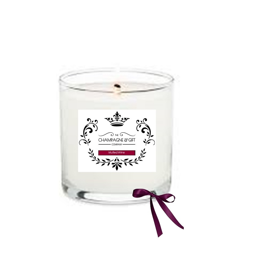 Champagne & Gift Company Signature Candle  - Mulled Wine