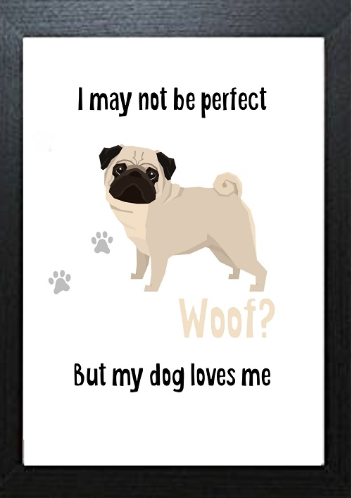 Inspirational Wall Art WA14 - My Dog Loves Me