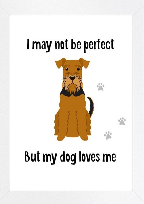 Inspirational Wall Art WA15 - My Dog Loves Me 2