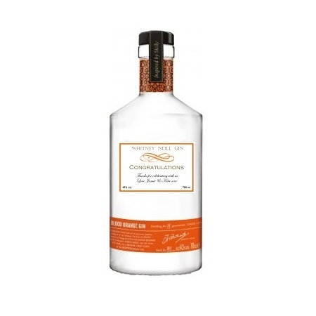 Personalised Hand Crafted Gin - Blood Orange