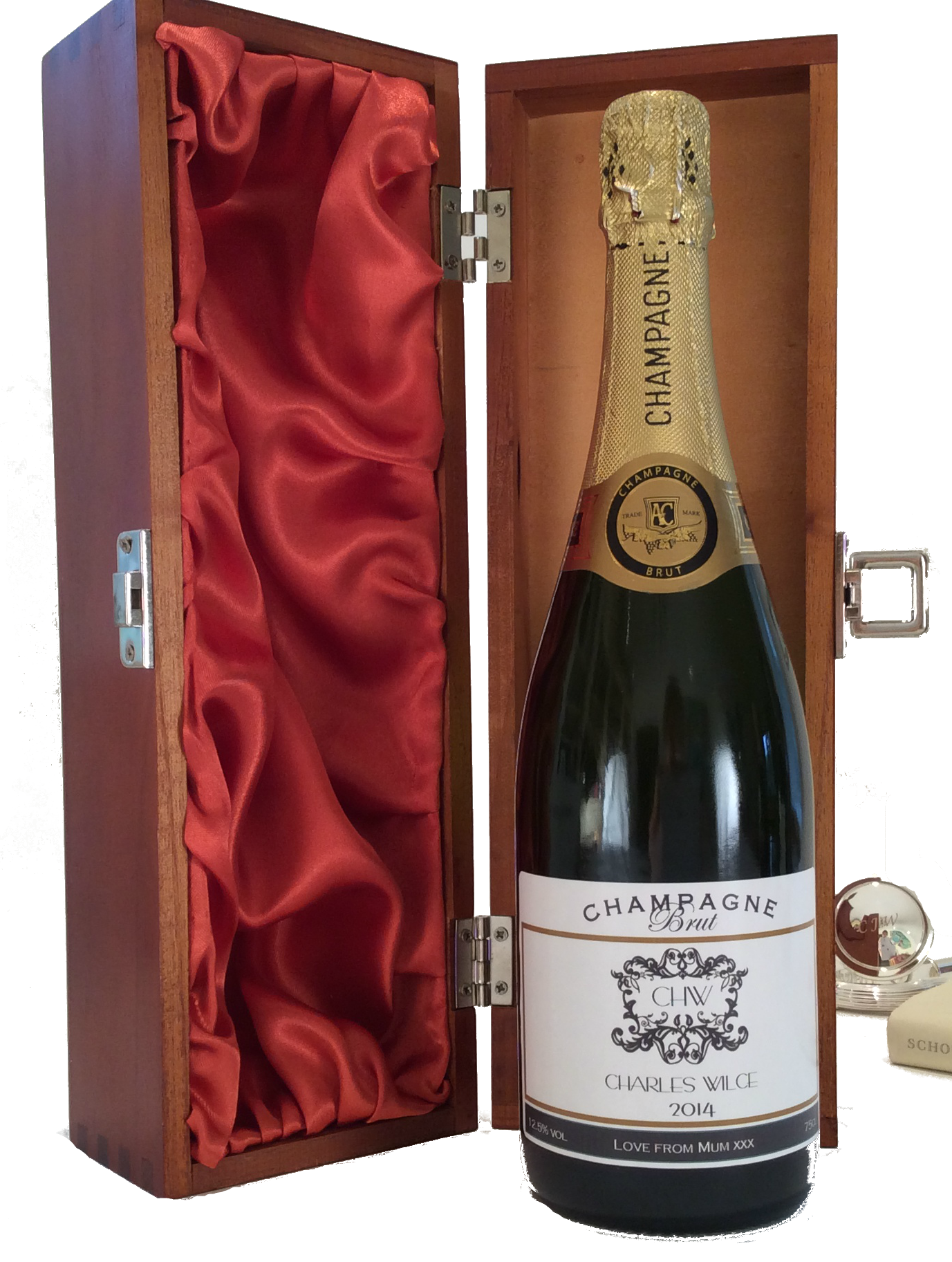 Carnegie - Personalised Champagne Gift Set