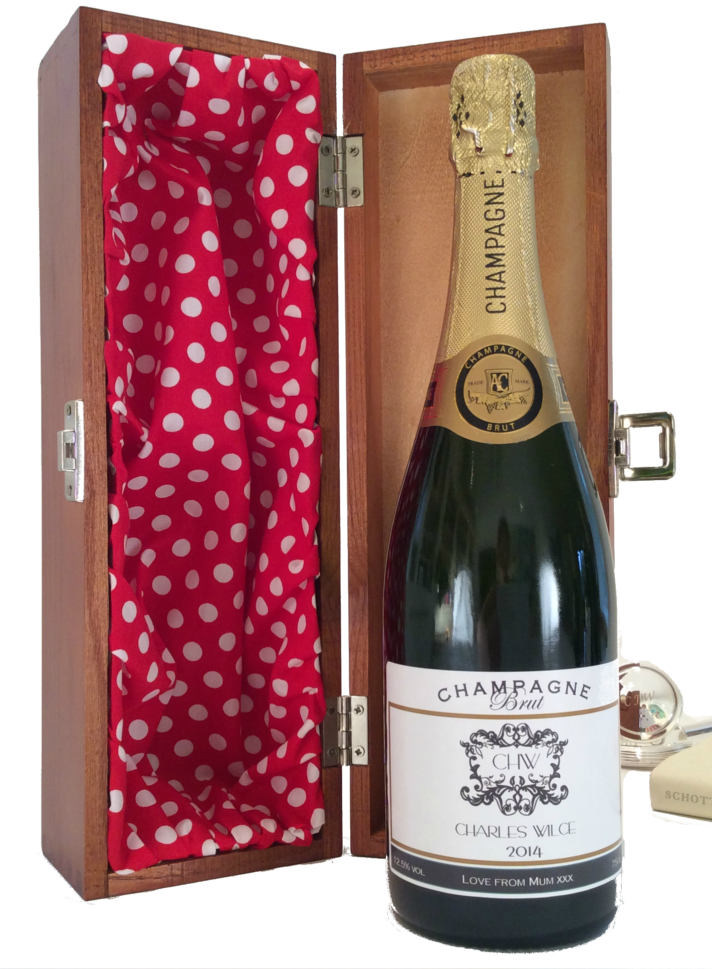 Fifth Avenue - Personalised Champagne Gift Set