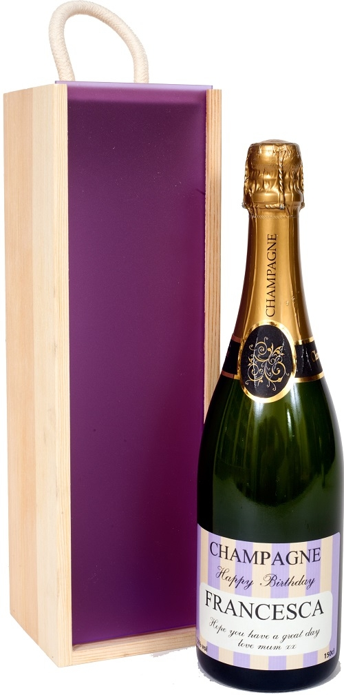 Personalised Prosecco - Exclusive Mardi Range