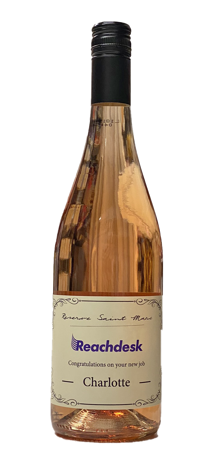 Corporate Branded Rosé Wine - Languedoc, Southern France