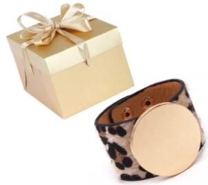 """""""Sri"""" Safari Wide Cuff Bracelet"""