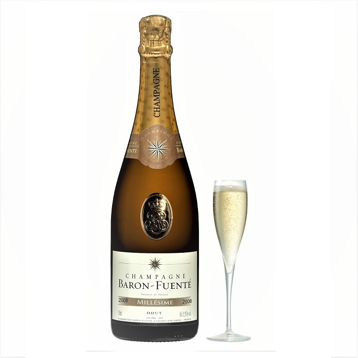 2008  Grand Millesime Brut Champagne - With Pewter Tag