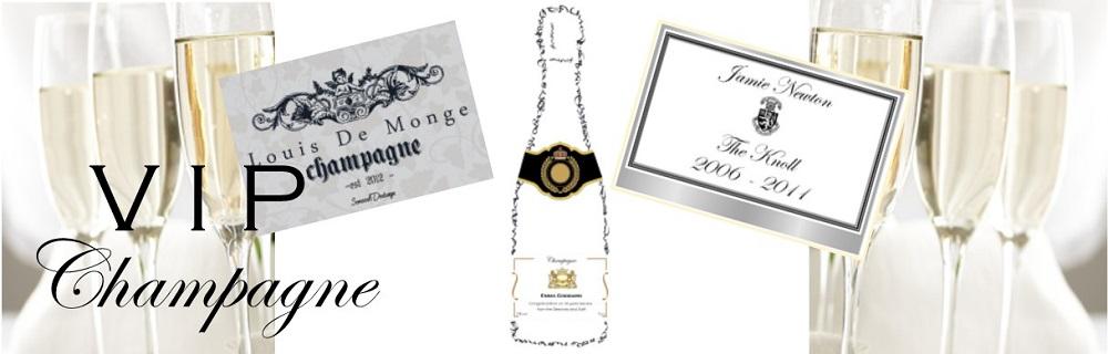 VIP Champagne Banner