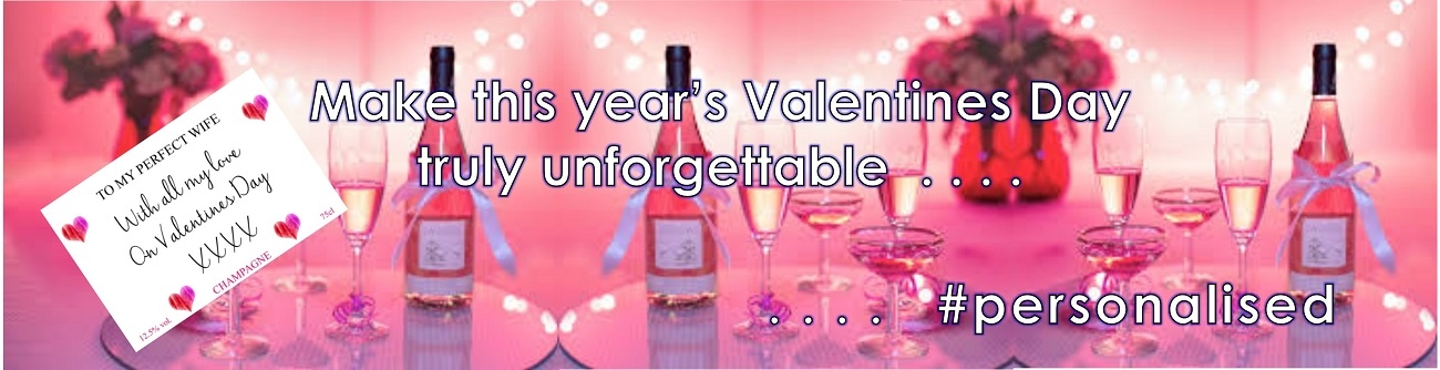 personalised-valentines-champagne-banner