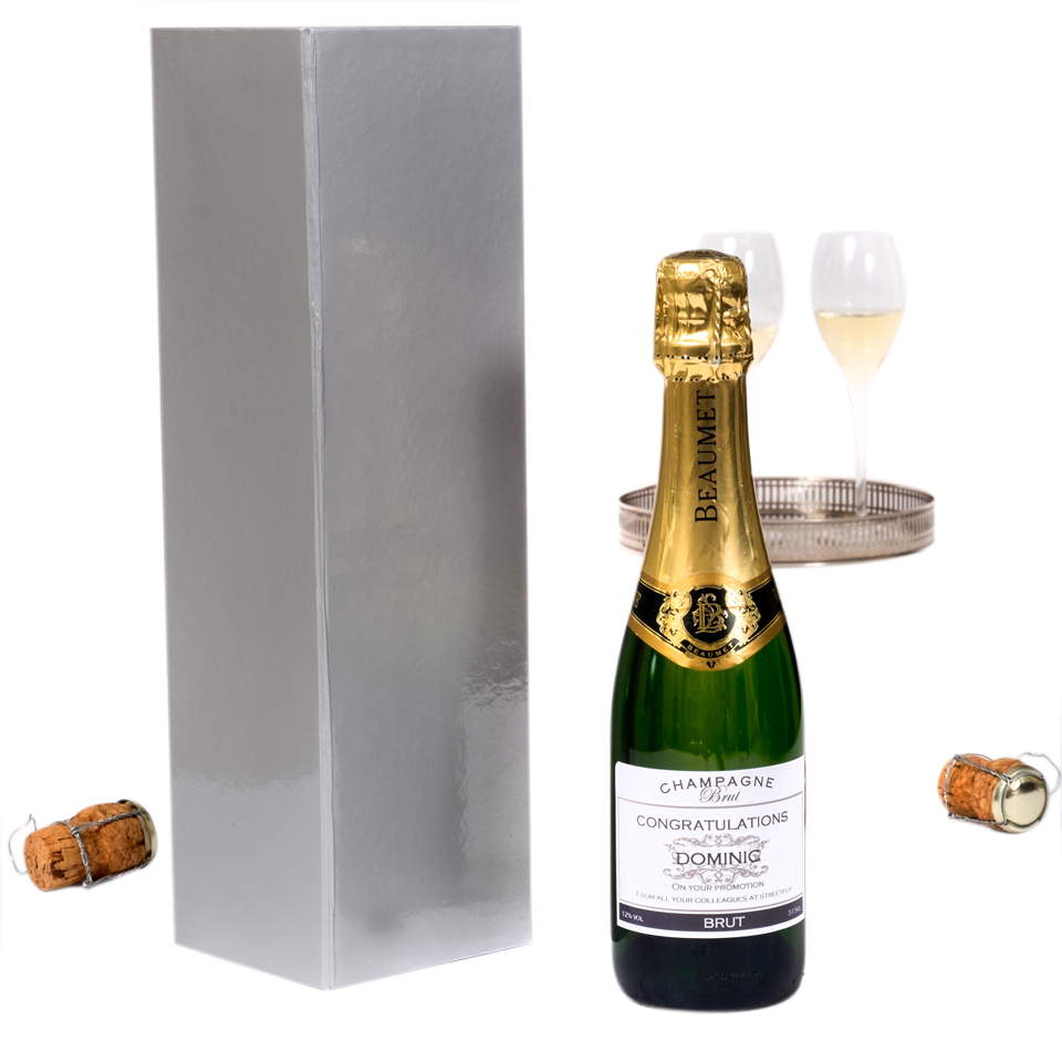 Personalised-Champagne- half-bottle