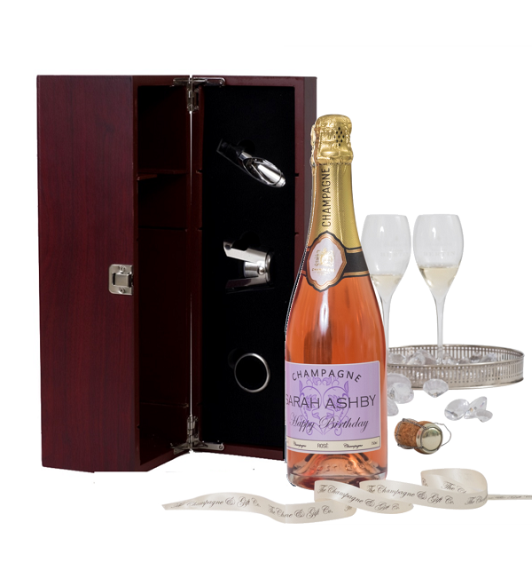 Standard-75cl-size-bottle-personalised-champagne-rosé