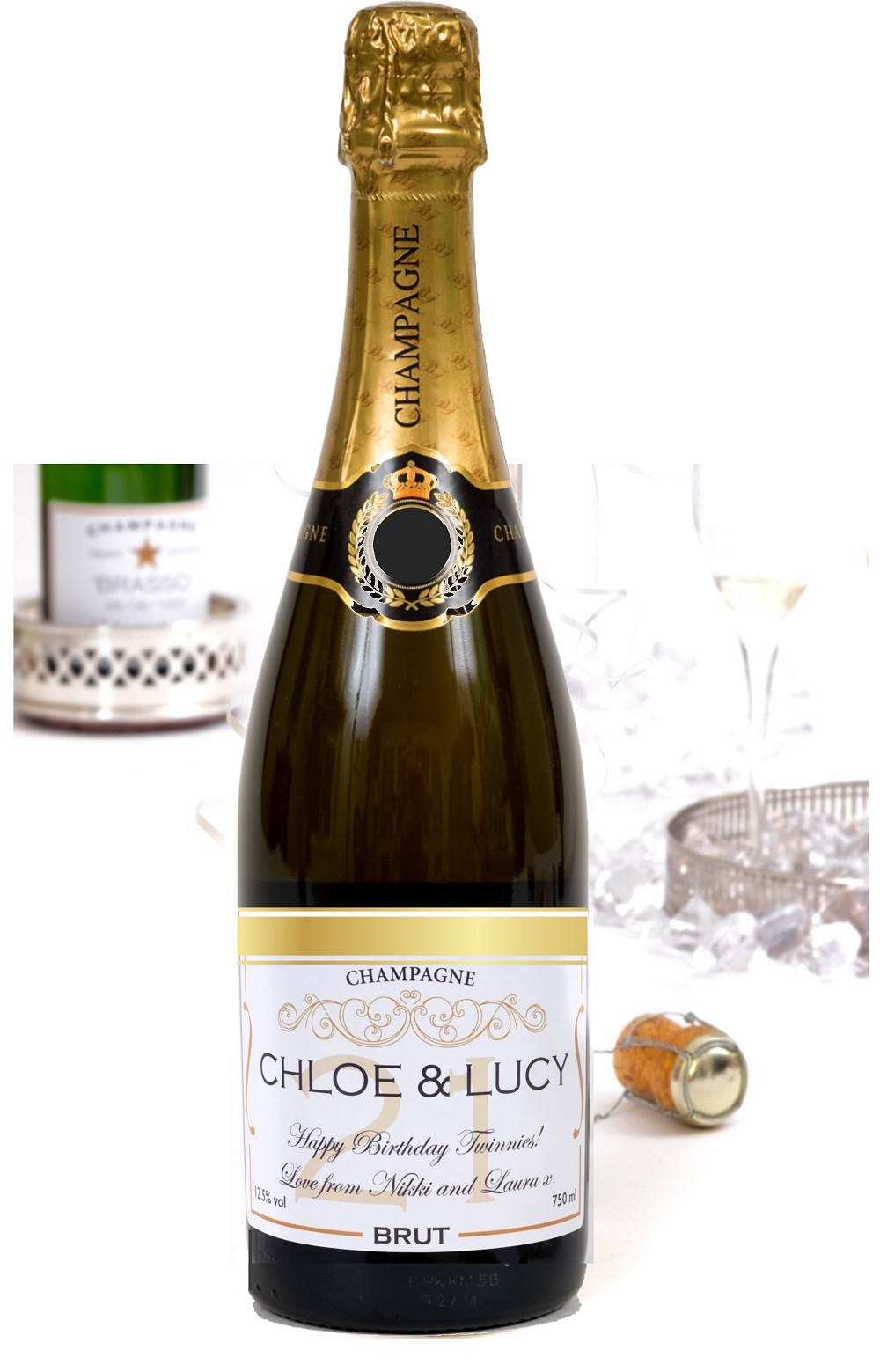 Personalised Champagne - Classic Brut