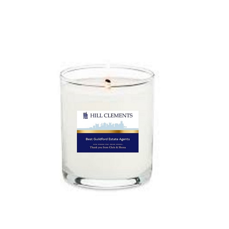 Branded-scented-candle-for-estate-agnet