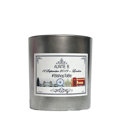 Personalised-Scented-candle-silver