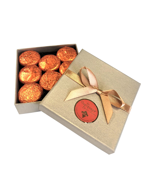 orange-cream-chocolate-truffles-in-gold-box