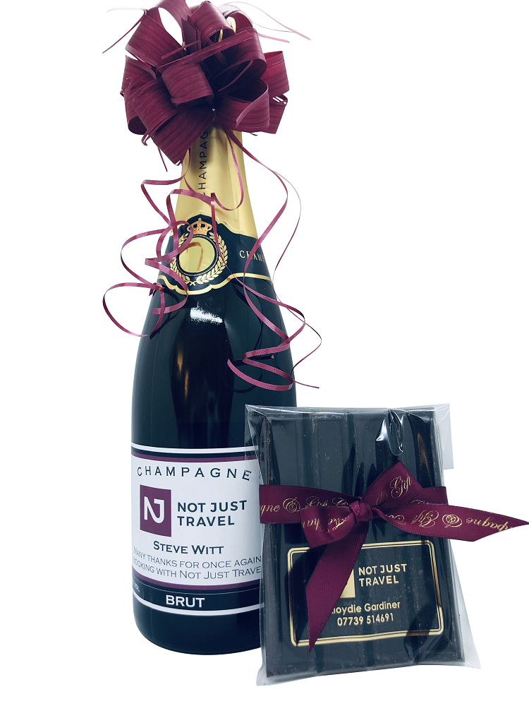branded-prosecco-bottle-with-branded-corporae-chocolates