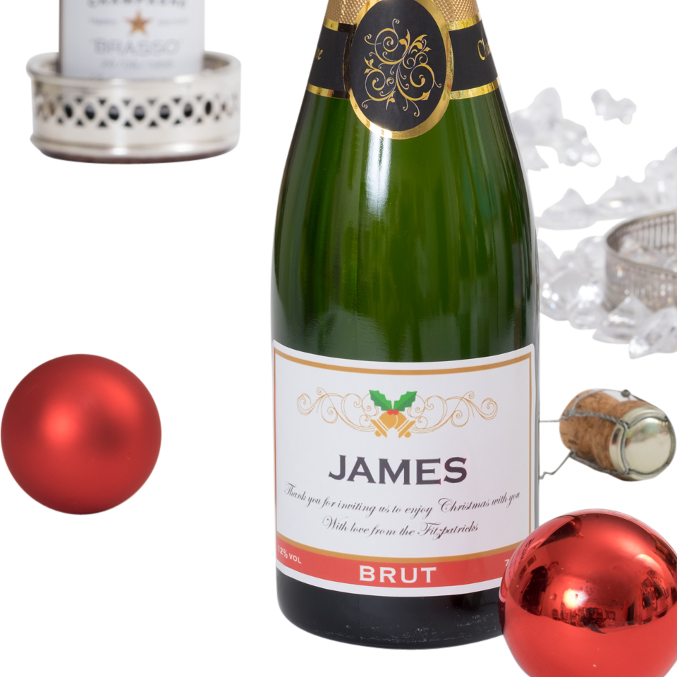 Personalised-Christmas-Champagne-Bottle