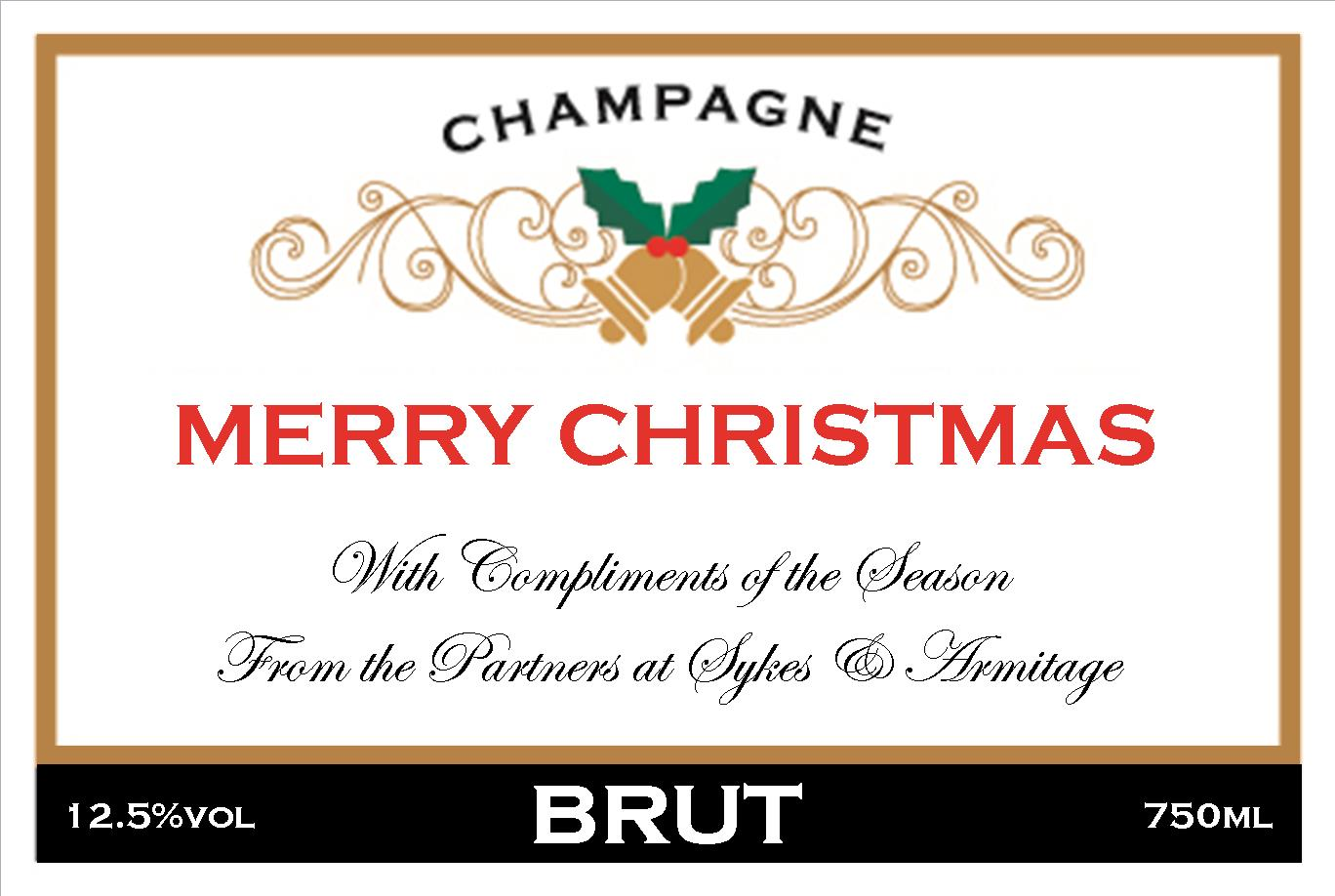 corporate-christmas-personalised-champagne-label