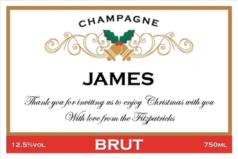 Christmas-Personalised-Champagne-Label