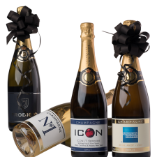 Branded-Champagne-4-bottles-different-labels