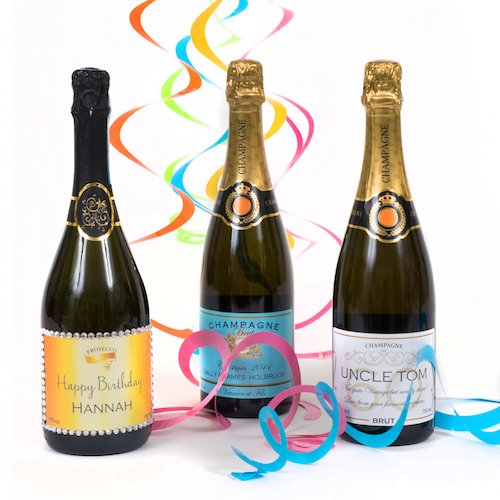 Personalised-birthday-champagne-bottles