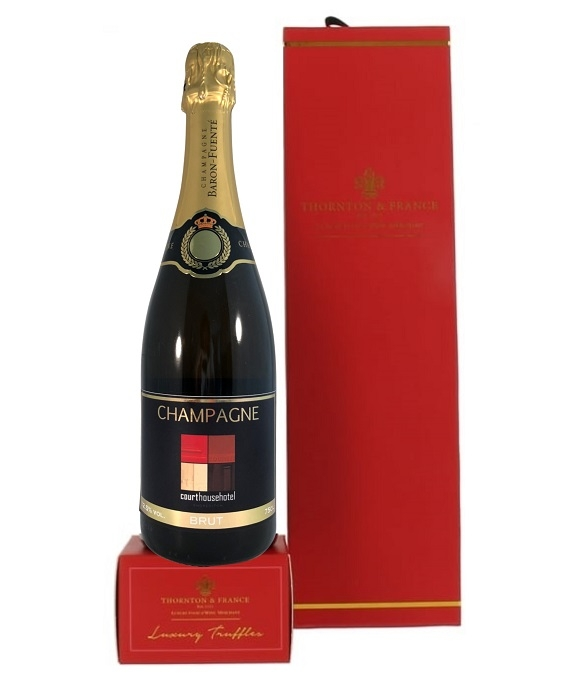 branded-personalised-bottle-champagne-with-chocoooolate-truffles-gift