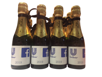 corporate-award-facebook-unilever-branded-bottle
