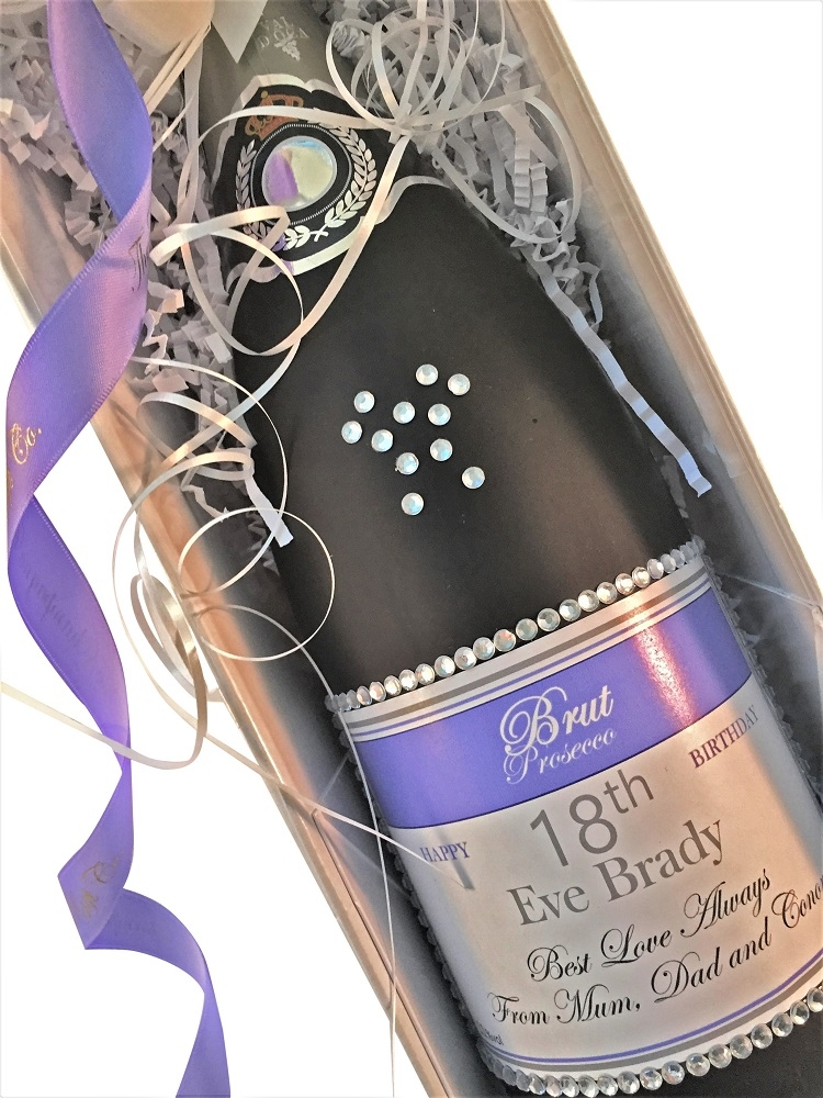 personalised-prosecco-bling