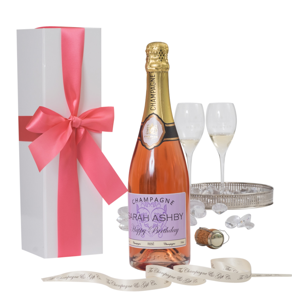 Personalised-champagne-gift-set