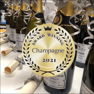 award winning champagne