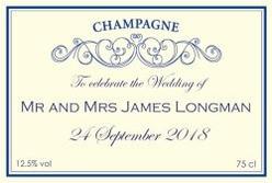 Personalised-Champagne-Wedding-Label-cream