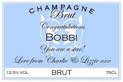 Bobbi-Champagne-label