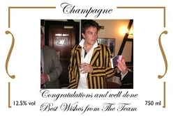 personalised-Champagne-photo-label