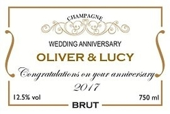 Personalised-champagne-label-classic-design