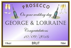 personalised -prosecco-label