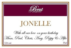 Burgundy-personalised-prosecco-label