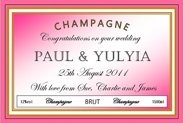 personalized-champagne-label-wedding-pink