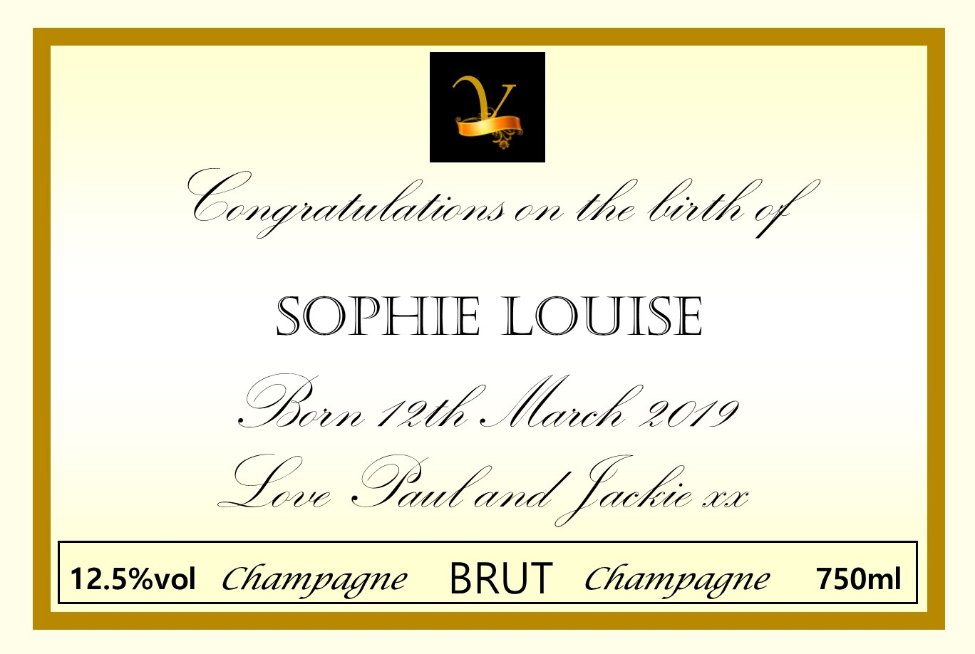new-baby-creeam-champagne-personalised-label