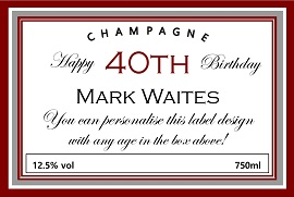 personalized-champagne-label-40th-birthday