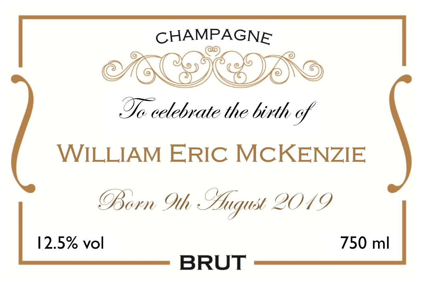 new-baby-champagne-personalised-label