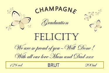 Champagne-Label