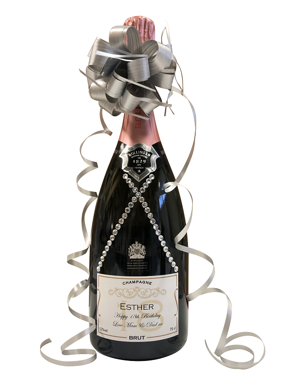 Personalised-champagne-gift-with-crysstal-gems