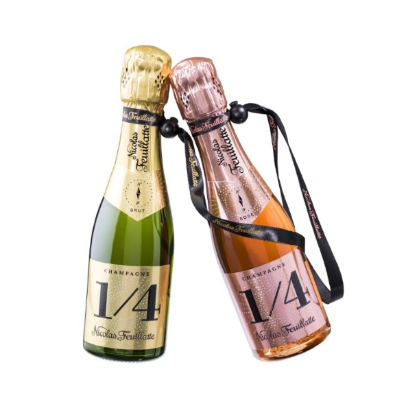 pretty-mini-champagne-bottles