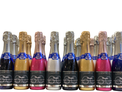 personalised-mini-champagne-pommery-pop-bottles