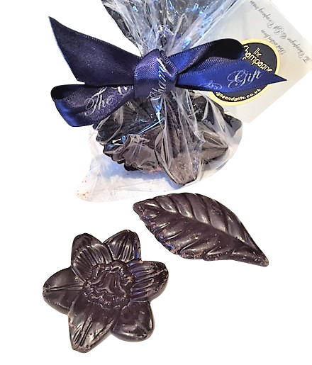chocolate-flowers