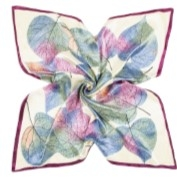 muted-colour-leaves-silk-scarf