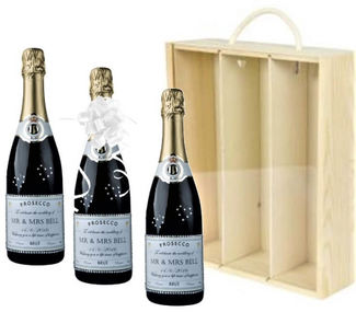 Personalised-Wedding-CProsecco-Gifts-Set-Three-Bottles
