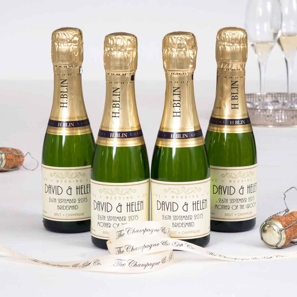 Champagne Wedding Gifts Personalised Wedding Champagne